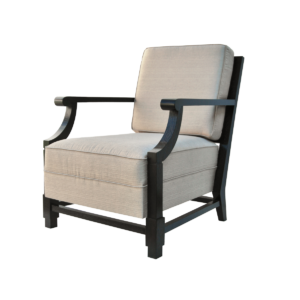 Adnet Arm Chair, d'après Jacques Adnet