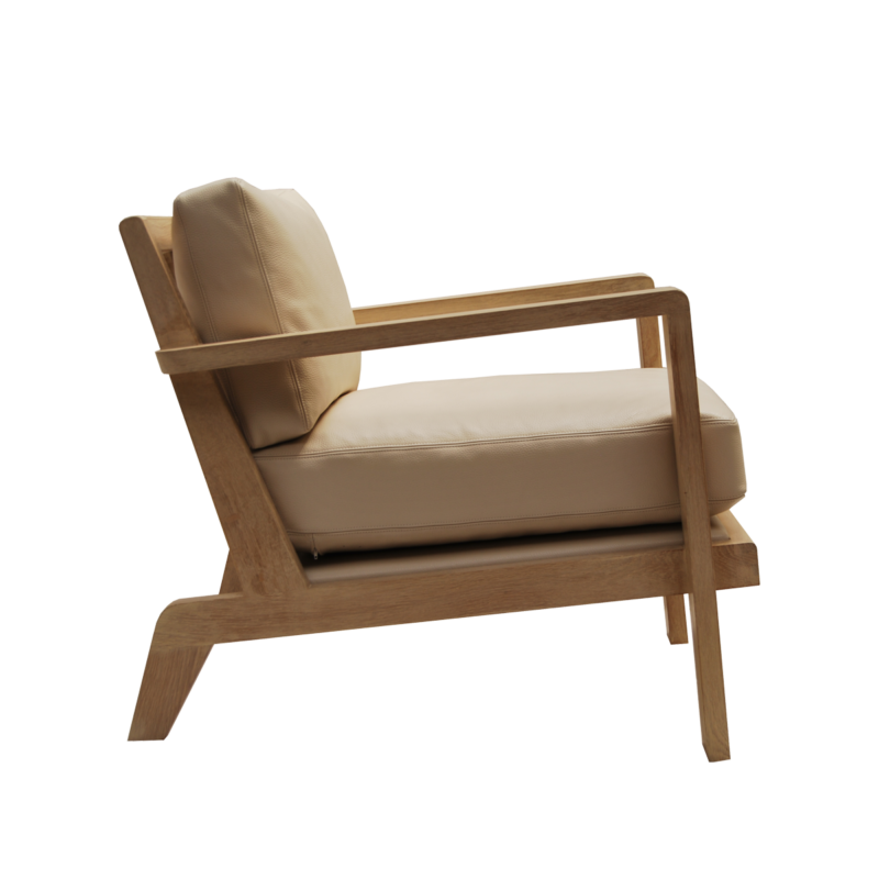 Jack Club Chair - Pierre COUNOT BLANDIN