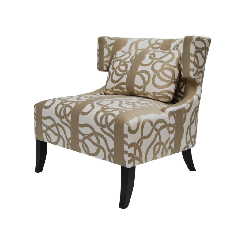 Nathalie Day Wing Chair - Pierre COUNOT BLANDIN