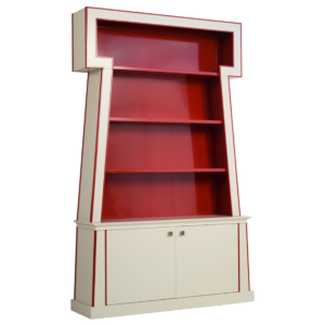 Sphinx bookcase cabinet