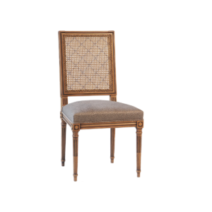 Louis XVI 365 caned back side chair