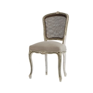 Louis XV 145 caned back side chair