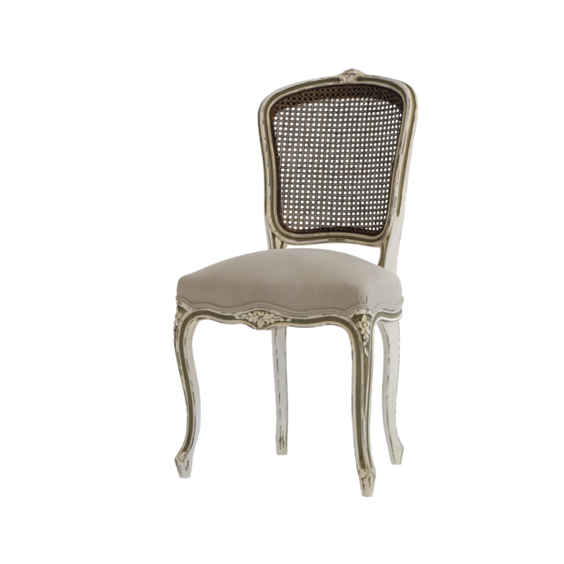 Louis XV 145 caned back side chair - Pierre COUNOT BLANDIN