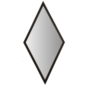 Miroir Cliché Losange Large