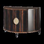 Demi-lune 2 doors cabinet - Pierre COUNOT BLANDIN