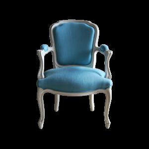 Fauteuil salon Louis XV 142