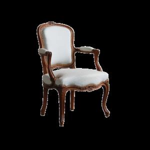 Fauteuil salon Louis XV 145