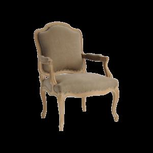 Fauteuil salon Louis XV 646