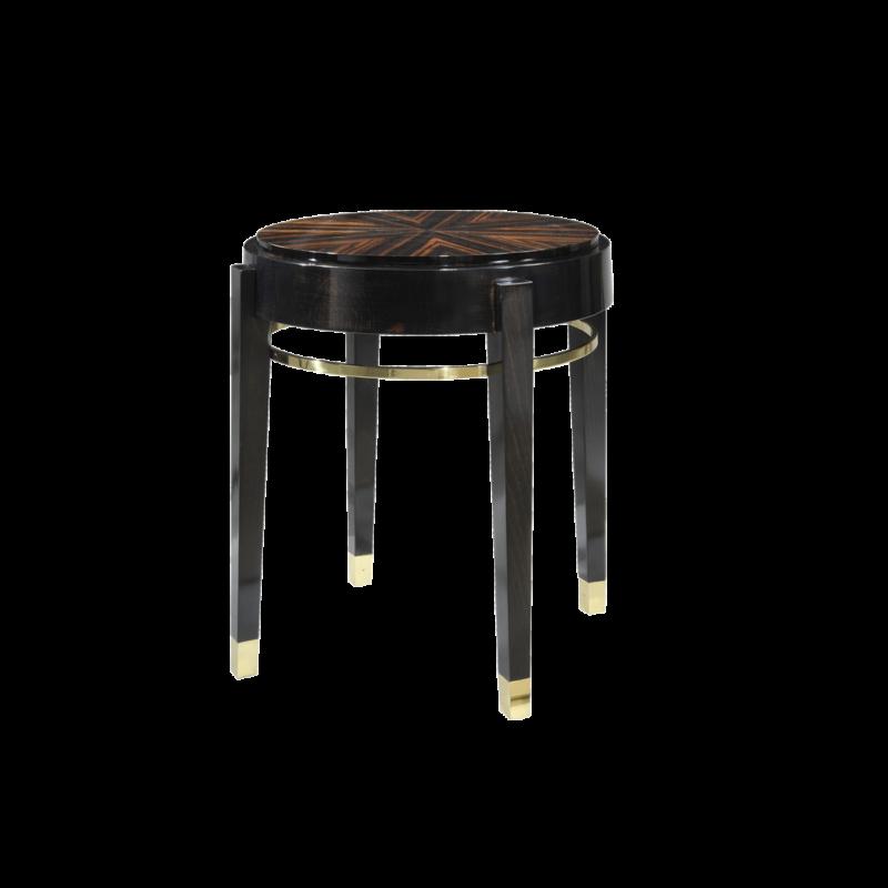 Palissandre Side table - Pierre COUNOT BLANDIN
