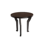 Table d'appoint ronde Sphinx